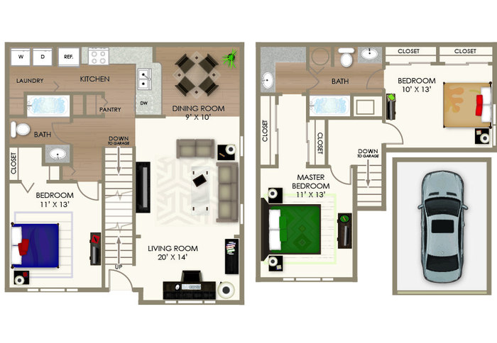 The River House Floor Plan